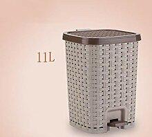Mülleimer Push Kitchen Bin With Deckel   (11L