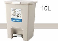 Mülleimer Push Küche Mit Deckel Stahl | Pedal