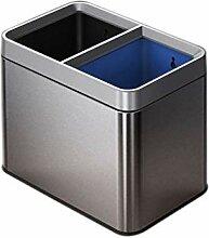 Mülleimer, quadratischer Papierkorb Mülleimer,