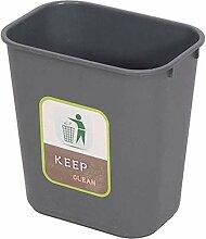 Mülleimer Study Trash Can, Trash Grey Dekorativer