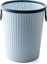 Mülleimer, Wohnraum Wohnzimmer Kein Deckel Körbe Badezimmer WC Kunststoff groß Druckring Mülleimer ( Farbe : #4 )