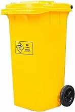 Mülleimer Yellow Medical Trash Can, Mülleimer im
