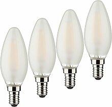 MÜLLER-LICHT 400025 A++, 4er-Set Retro-LED Lampe