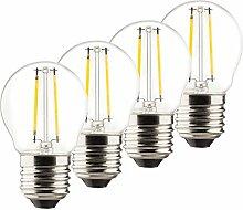 MÜLLER-LICHT 400029 A++, 4er-SET Retro-LED Lampe