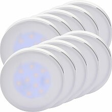 MÜLLER-LICHT 400045 A+, 10er-SET LED Lampe GX53,