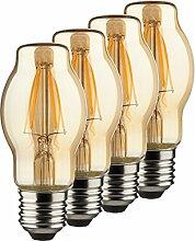 MÜLLER-LICHT 400212 A++, 4er-SET Retro-LED Lampe