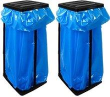 Müllsackständer 2er-Set 70x35x30cm max. 60L