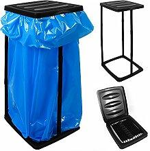 Müllsackständer für Müllsäcke bis max. 60 LITER 3-fach höhenverstellbar - Müllsackhalter Abfallbehälter Müllbeutelhalter