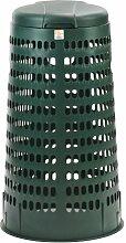Müllsackständer mit Deckel 'grün'