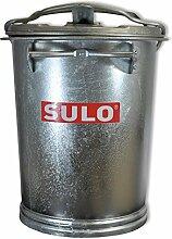 Mülltonne Stahl verzinkt SULO SME Retrodesign Abfalltonne Mülleimer NEUWARE (22319 - SULO SME 35 Stahlblech)