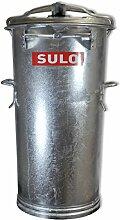 Mülltonne Stahl verzinkt SULO SME Retrodesign