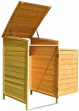 Mülltonnenbox 120 L Mülltonnenverkleidung Anbau