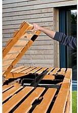 Mülltonnenbox 3 Tonnenhonig 92 x 219 x 122 cm,