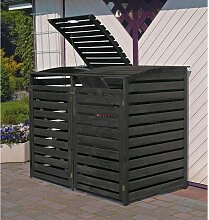 Mülltonnenbox 'Vario III' für 2 Tonnen