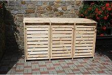 Mülltonnenbox 'Vario III' für 3 Tonnen