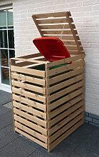 Mülltonnenbox 'Vario V' für 1 Tonne natur
