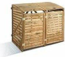 Mülltonnenbox aus Holz Liberty Hill