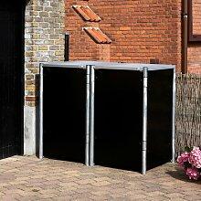 Mülltonnenbox Culler aus Kunststoff Rebrilliant