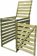 Mülltonnenbox für 1 Tonne 240 L Imprägniertes