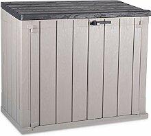 Mülltonnenbox für 2x 120l Tonnen, großer