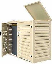 Mülltonnenbox für den Außenbereich, 240 l, aus