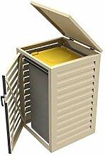 Mülltonnenbox für den Außenbereich, einfach