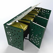Mülltonnenbox, Mülltonnenboxen, Mülltonnenbox 4