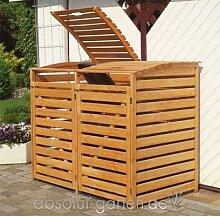 Mülltonnenbox Vario III für 2 Tonnen von