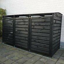 Mülltonnenbox Vario III für 3 Tonnen von