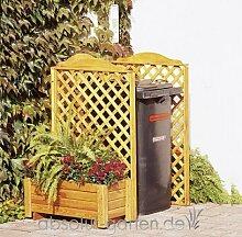 Mülltonnenspalier Rex Grundsystem von PROMADINO