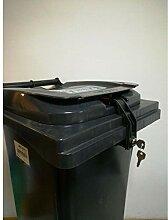 Mülltonnenverriegelung, 40-120 Liter, für Sulo,