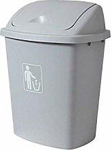 Mülltrennungssystem Abfallsammler Abgedeckter