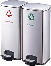 Mülltrennungssystem Abfallsammler Pedal