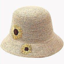 Mützen XIAOYAN Hüte Handgemachte Rafi Strohhut