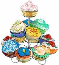 Muffin Ständer Cupcake Etagere 13 Stück