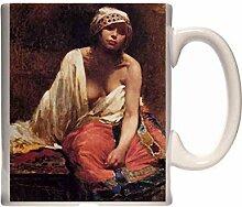 Mug Borgoni Mario A Harem Beauty Ceramic Cup Gift