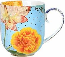 Mug Large Royal Flowers 325ml