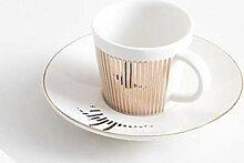 Mug Spiegelreflexion Kaffeetasse Creative Leopard