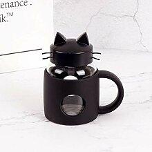 Mug Tasse Becher Geschenk 280Ml Süße Katze Glas