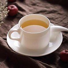 Mug Tasse Becher Kaffee 160Ml, Einfache Weiße