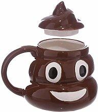 Mug Tasse Becher Kaffee Kreative Lustige Poop