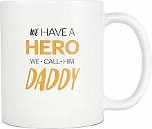 Mug Tasse Becher Kaffee Papa Tassen Held Tassen