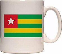 Mug togo flag n1794 Gift Box Flag COA Emblem Cup Ceramic