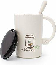 Mugcap europäischen Stil Kaffee Tasse Keramik