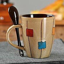 Mugcap kreative Becher mit Deckel von einfachen