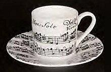 mugesh Espresso-Set Vivaldi (weiß) - Schönes