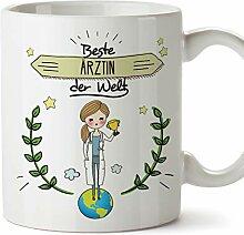 Mugffins Ärztin Tasse/Becher/Mug Geschenk Schöne