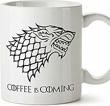 MUGFFINS Game of Thrones Tasse - Coffee is Coming