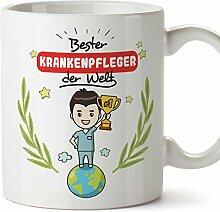 Mugffins Krankenpfleger Tasse/Becher/Mug Geschenk