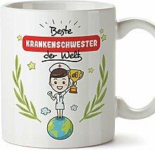 Mugffins Krankenschwester Tasse/Becher/Mug